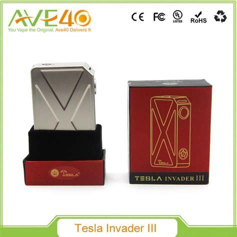 Original Garskin Skin Mod Vape Tesla Invader 3 Zipper 100 original tesla invader iii 240w box mod invader 3 electronic cigarette vape mods fit 18650