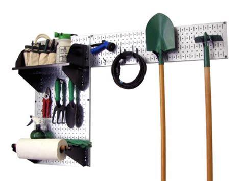 Wall Control Garden Tool Organizer Kit Garden Tool Wall Storage
