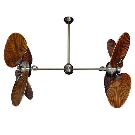 dual motor ceiling fan twin star iii dual motor ceiling fan with solid wood