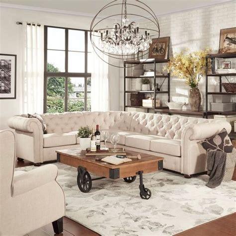 tufted sectional sofas best 25 leather sofa ideas on