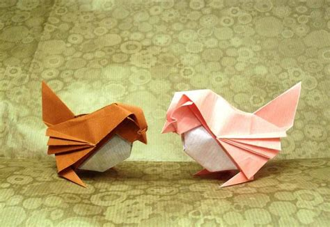 Origami Sparrow - 35 amazing exles of origami artworks