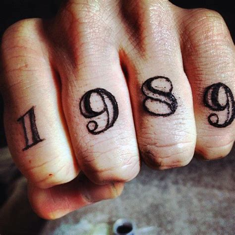1989 tattoo designs top 100 best knuckle tattoos for a of