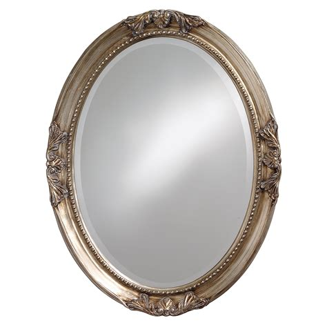 Uttermost Wall Mirrors Lisette Silver Wood Oval Mirror Free Shipping Today