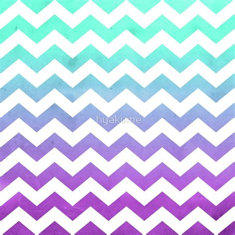 aqua patterns quot purple mint aqua ombre chevron pattern quot tote bags by