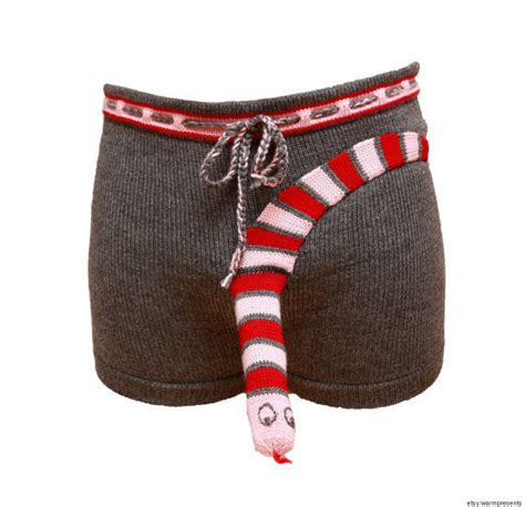 knit elephant boxers knitted s brings a whole new meaning to