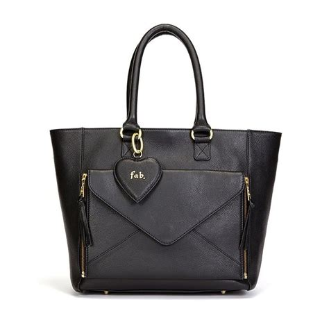 Tas Two In One by Fab Two In One Business Bag Black
