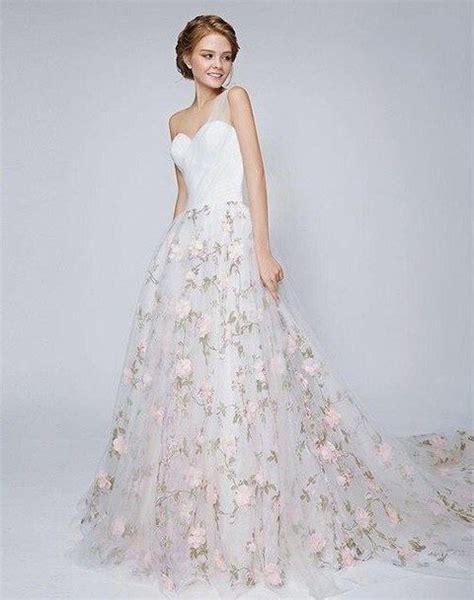 Wedding Dress Flower by Gorgeous Floral Wedding Dresses That Inspire Happywedd