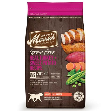 petco grain free food merrick grain free turkey sweet potato food petco