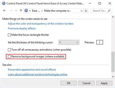 remove wallpaper computer desktop fix cannot change desktop background on windows 10