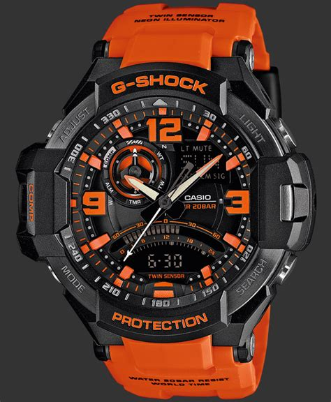 G Shock Gw 1000 Orange by G Shock Watches Premium