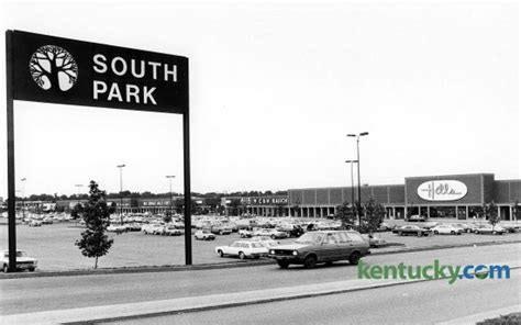 south park shopping center 1979 kentucky photo archive