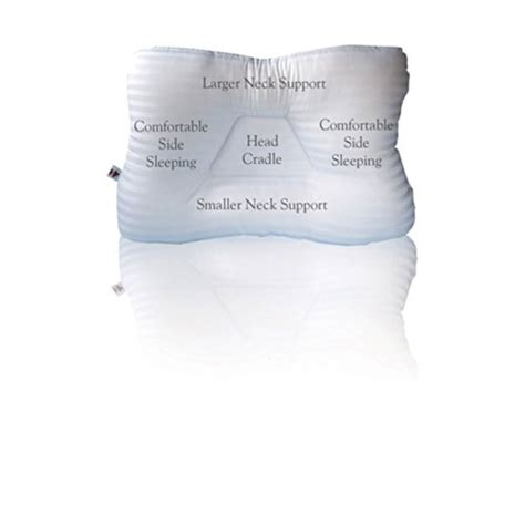 Cervical Neck Pillow For Side Sleepers by Best Cervical Contour Pillow For Side Sleepers