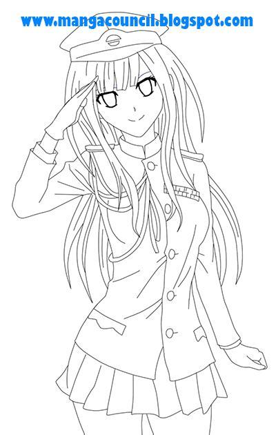 cara menggambar anime hitam putih cara menggambar anime cewek council