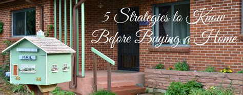 what to know before buying a house 5 strategies to know before buying a house colorado springs real estate
