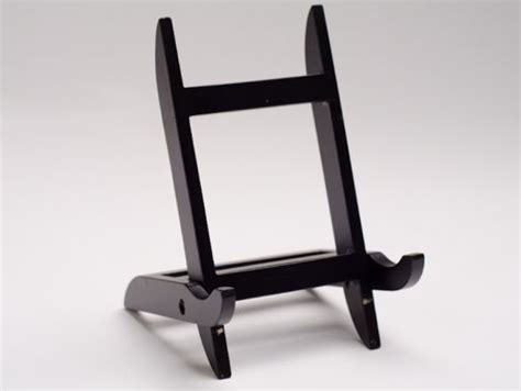 Tripod Frame Foto mission style wood picture frame easel display stand ebay