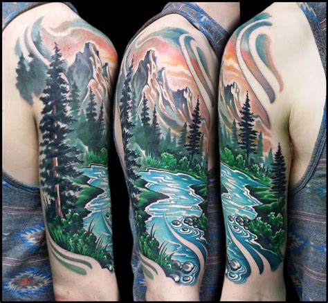 bob ross tattoo bob ross by jeff ensminger tattoonow