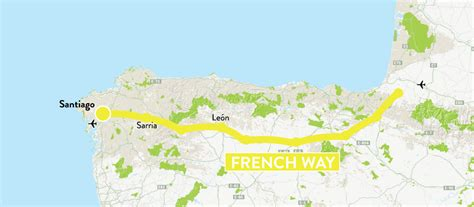 camino ways camino frances map camino way map caminoways