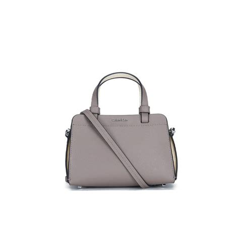Ck Magnetic With Mini Bag calvin klein sofie micro duffle bag silver womens