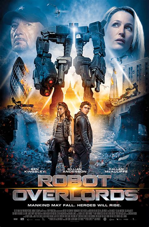 film robot overlords 2014 action movie posters 2014 www pixshark com images