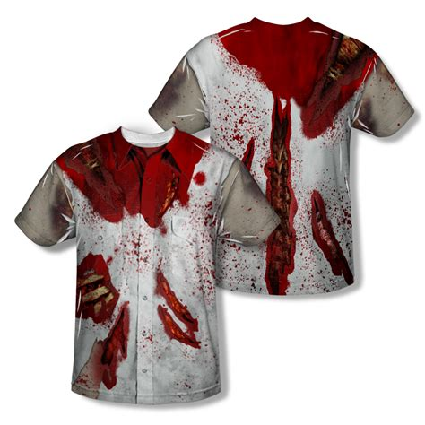 tshirt scary ghost baam ripped up all t shirt