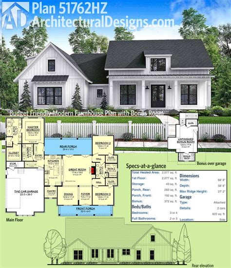 Best 25 Modern Farmhouse Plans Ideas On