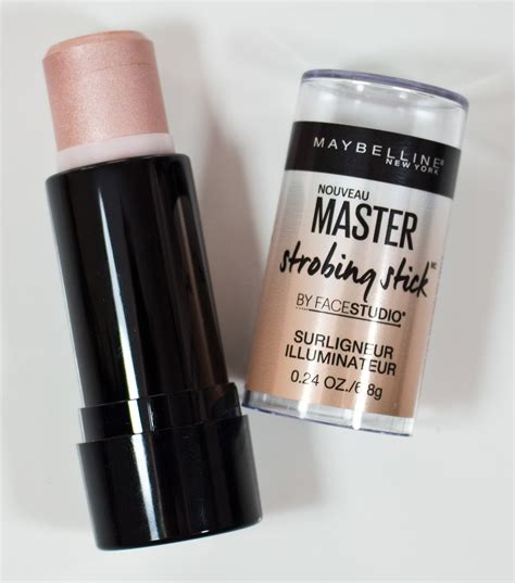 Maybelline Strobing Stick warpaint and unicorns maybelline facestudio master