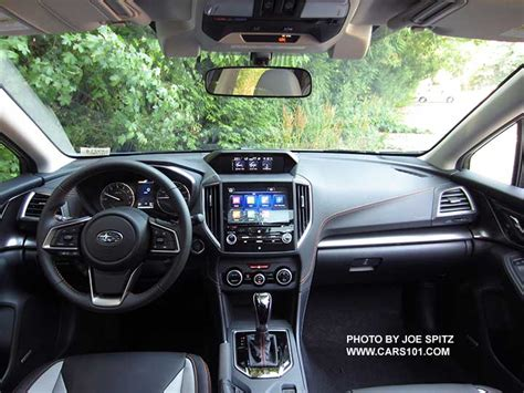 subaru crosstrek interior 2018 2018 subaru crosstrek interior photos