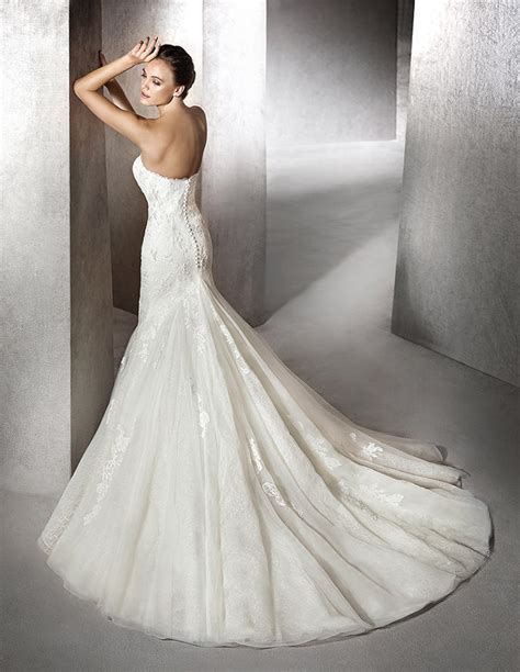 wedding dress rubber st zana wedding dress by st barcelona pronovias