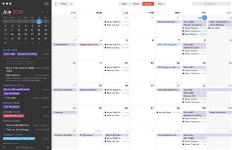 Calendar App For Best Calendar Apps For Mac Imore