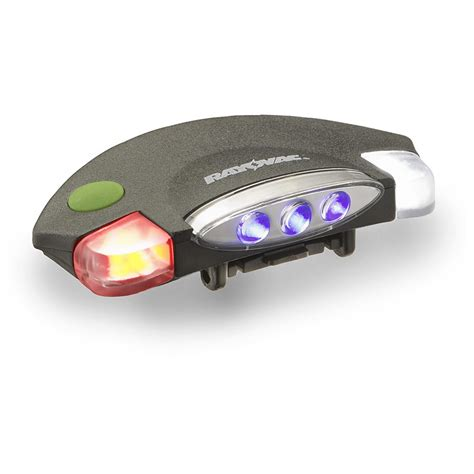 hat with led lights rayovac 174 blood tracker 3 in 1 led hat clip light 592934