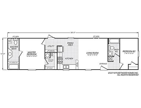 100 1999 fleetwood mobile home floor plan fuel