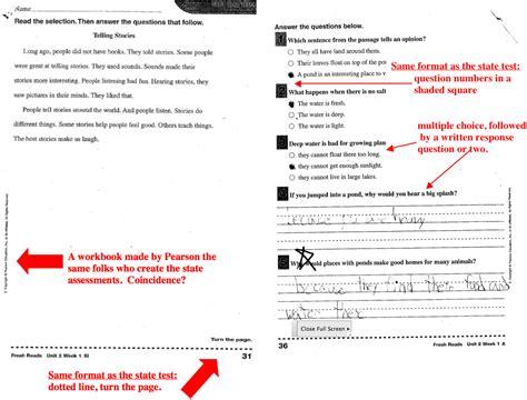 2nd Grade Test Prep Worksheets by Missouri Education Watchdog 2013 03 03