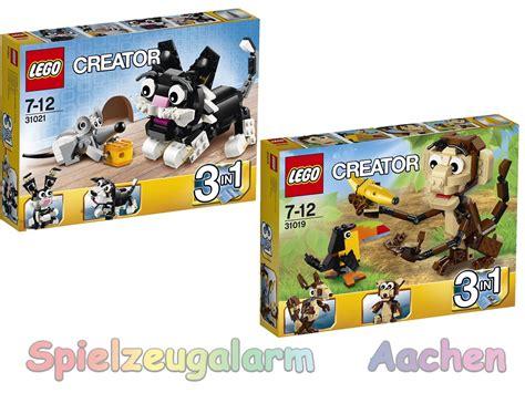 Brenda Set 3in1 lego 6in2 modell creator 31021 31019 katze maus urwald