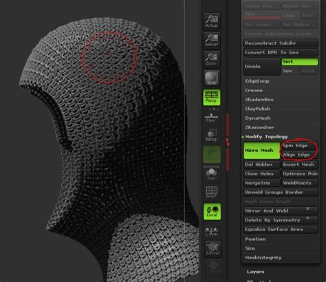 zbrush chainmail tutorial how to create a chain mail hood in zbrush by alexander