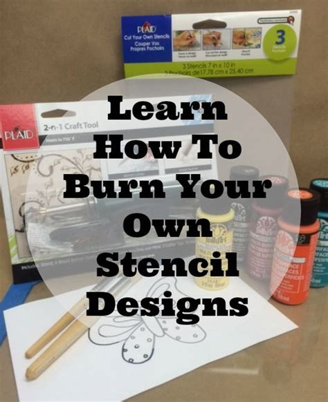 Learn A Simple Method To Make Your Own Blueprints For Your | learn how to make your own stencil designs it s easy
