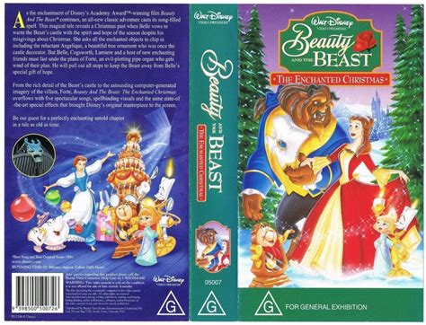And The Enchanted L by Disney And The Beast The Enchanted Vhs Ebay