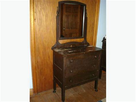 three drawer dresser with mirror sold antique vintage solid wood 3 drawer dresser with