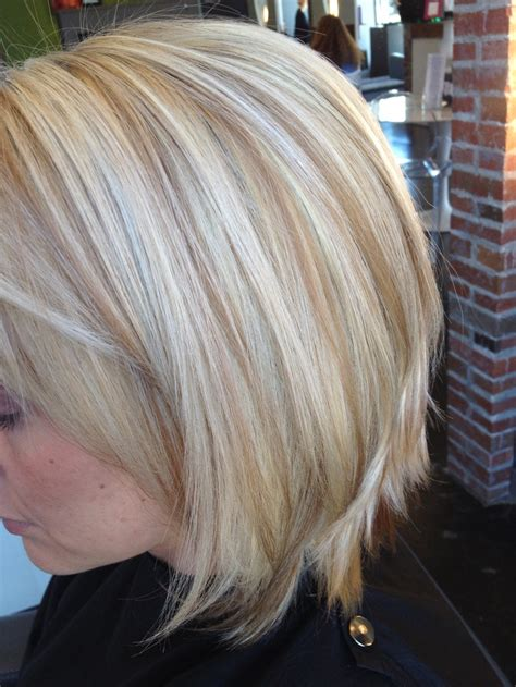 low lights for blech blond short hair chocolate silver granite hair color short hairstyle 2013