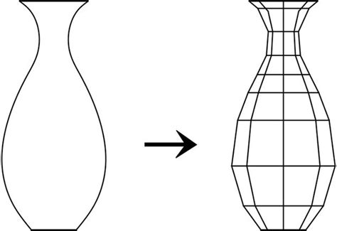 How Do You Draw A Vase by How To Make A Paper Vase Without