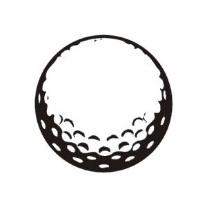 golf clipart black and white golf clipart 2 wikiclipart clipartix