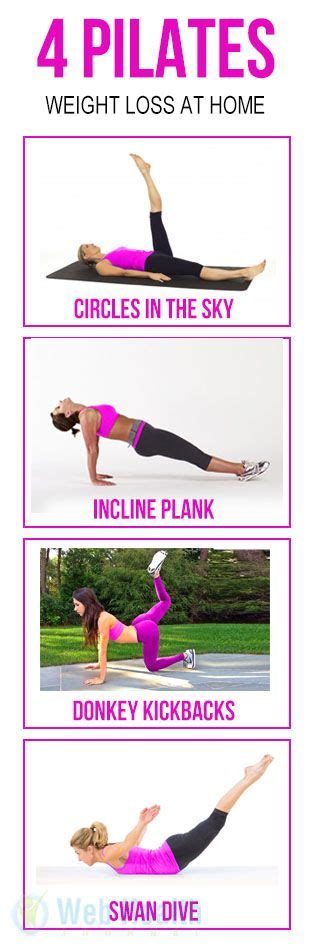 25 best ideas about pilates at home on
