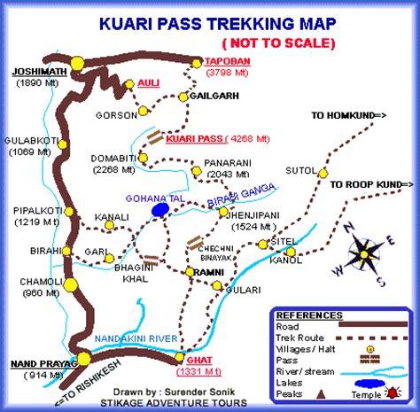 map kuari pass