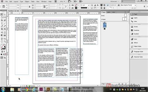 tutorial indesign gratuit importul si formatarea textului in adobe indesign cs6