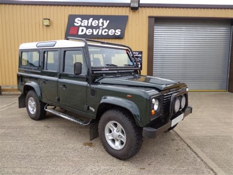 land rover defender 110 200tdi station wagon multi point