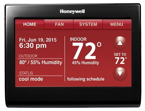 wi fi smart thermostat with voice rth9590wf