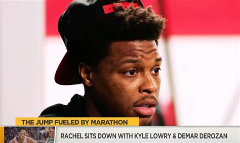 rachel nichols interview kyle lowry rachel nichols talks nba playoffs with demar derozan x