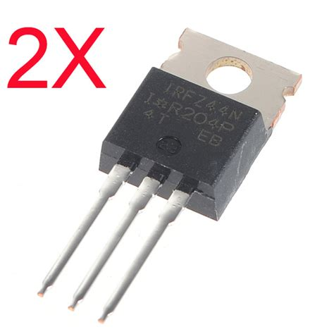 transistor mosfet n channel 2pcs irfz44n transistor n channel international rectifier power mosfet alex nld