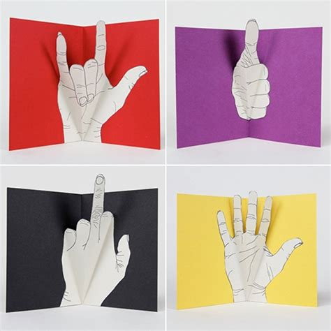 Boys Pop Up Card Template by Diy Idea Gesture Pop Up Greeting Cards Made
