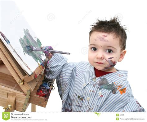 painting for boy boy child painting 04 royalty free stock photo image 58695