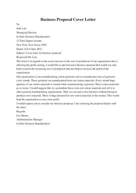 cover letter  business plan cover letter samples